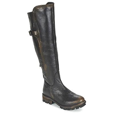 b240fc4cb12e1c Papucei LILI Stiefel Damen Schwarz - 41 - Klassische Stiefel  Amazon ...