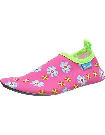 1baafc0beb2d6 Playshoes Unisex Kids' Uv-Schutz Barfuß-Schuh Blumen Water Shoes