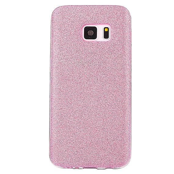 812a87ddb Galaxy S7 Edge Cover, TIPFLY Super Soft Slim Fit Stylish Creative Luxury  Bling Sparkle Powder