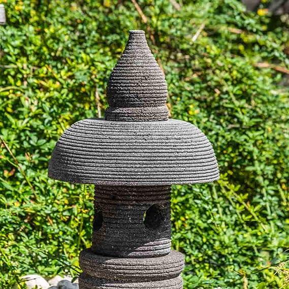 Wanda collection Linterna Japonesa de Piedra de Lava 55 cm jardín Zen: Amazon.es: Jardín