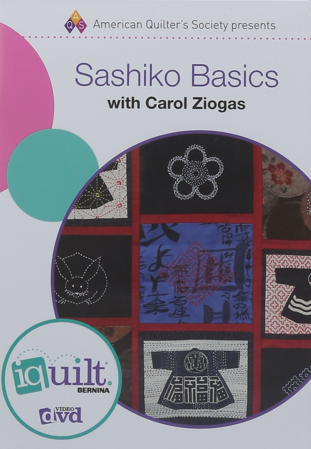 DVD - Sashiko Basics - Complete iquilt Class (Iquilts: American Quilter's Society Presents)
