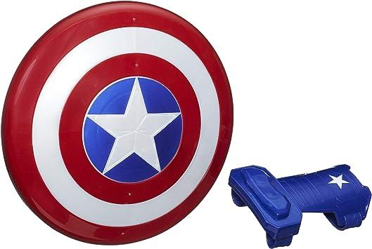 Oferta amazon: Avengers- Escudo Capitán América, Multicolor, única (Hasbro B9944EU8)
