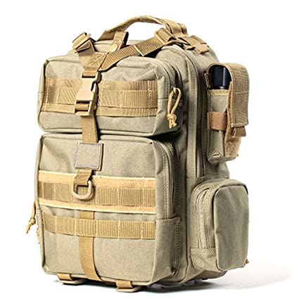 In Design; Military Tacticall Bag Molle Fishing Hiking Hunting Bags Sports Bag Chest Body Sling Single Shoulder Tactical Backpack Dayback Novel