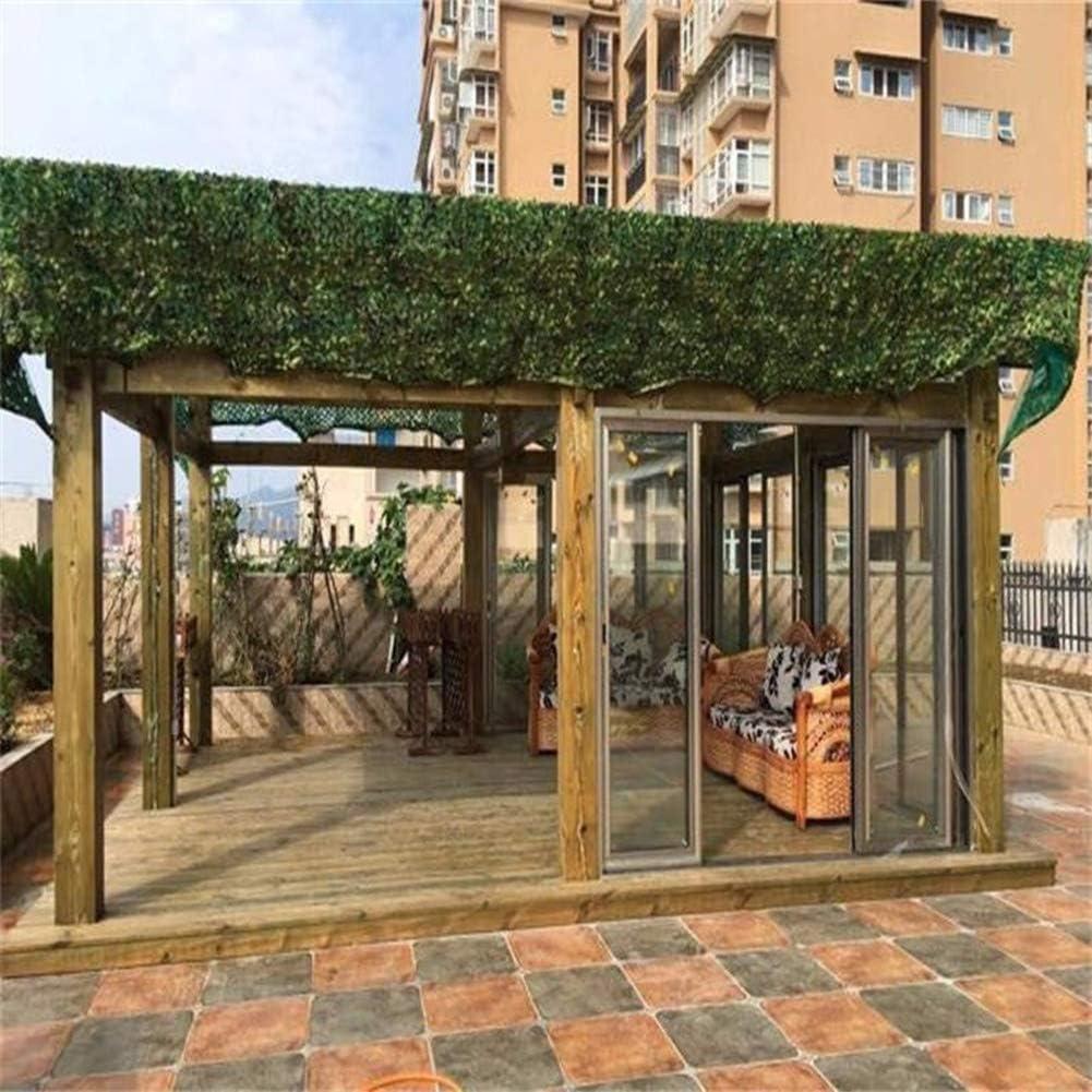 AGLZWY Sombra al Aire Libre de Tela de Camuflaje Neto UV y Resistente for el jardín de la Cubierta de Aves de Corral Cerca de privacidad Agricultura sombrilla del Coche, múltiples tamaños: