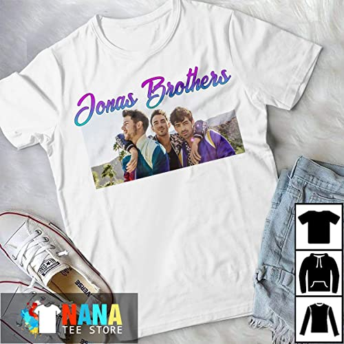 f1b33be26 Amazon.com: Jonas Brothers Happiness Begins Tour 2019 T-Shirt Long T-Shirt  Sweatshirt Hoodie: Handmade