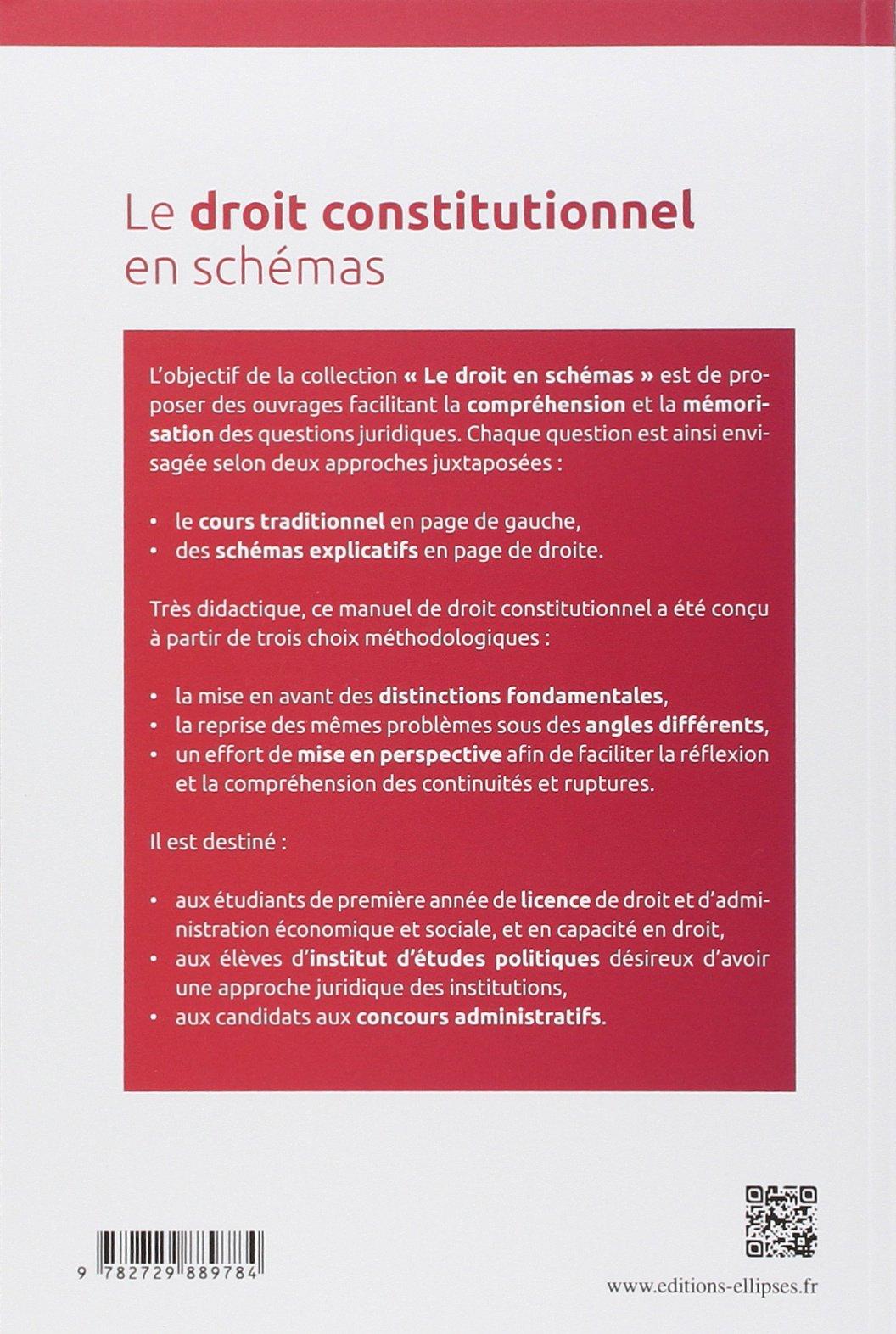 Assez Amazon.fr - Le Droit Constitutionnel en Schémas - Hélène Simonian  IO33