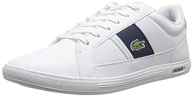 4daf01eaa Lacoste Europa Fashion Sneaker White Dark Blue 13 D(M) US  Buy ...