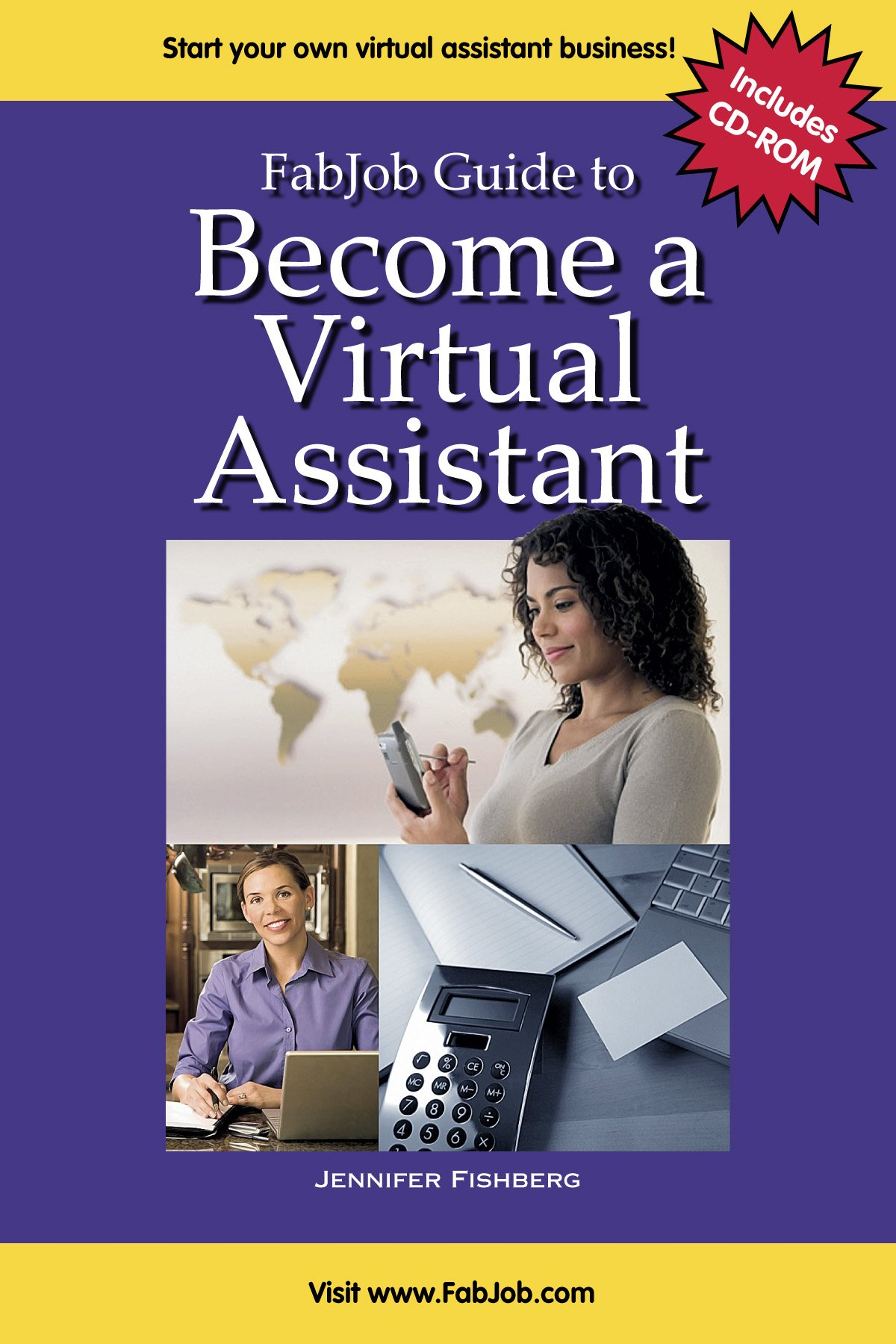 fabjob guide to be e a virtual assistant with cd rom fabjob