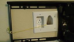 Amazon Com Datacomm 50 3323 Wh Kit Flat Panel Tv Cable