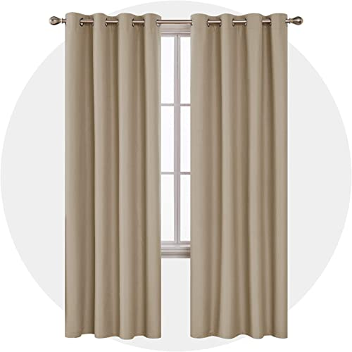 Deconovo Long Total Blackout Curtain