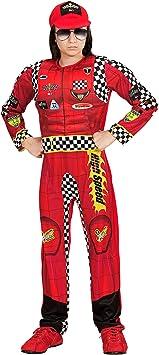 WIDMANN- Disfraz infantil de Fórmula 1 piloto, 140 (05417 ...