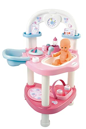 Smoby - 24663 - Poupée et Mini-Poupée - Baby Nurse - La Nursery des ... edfe8a8b539