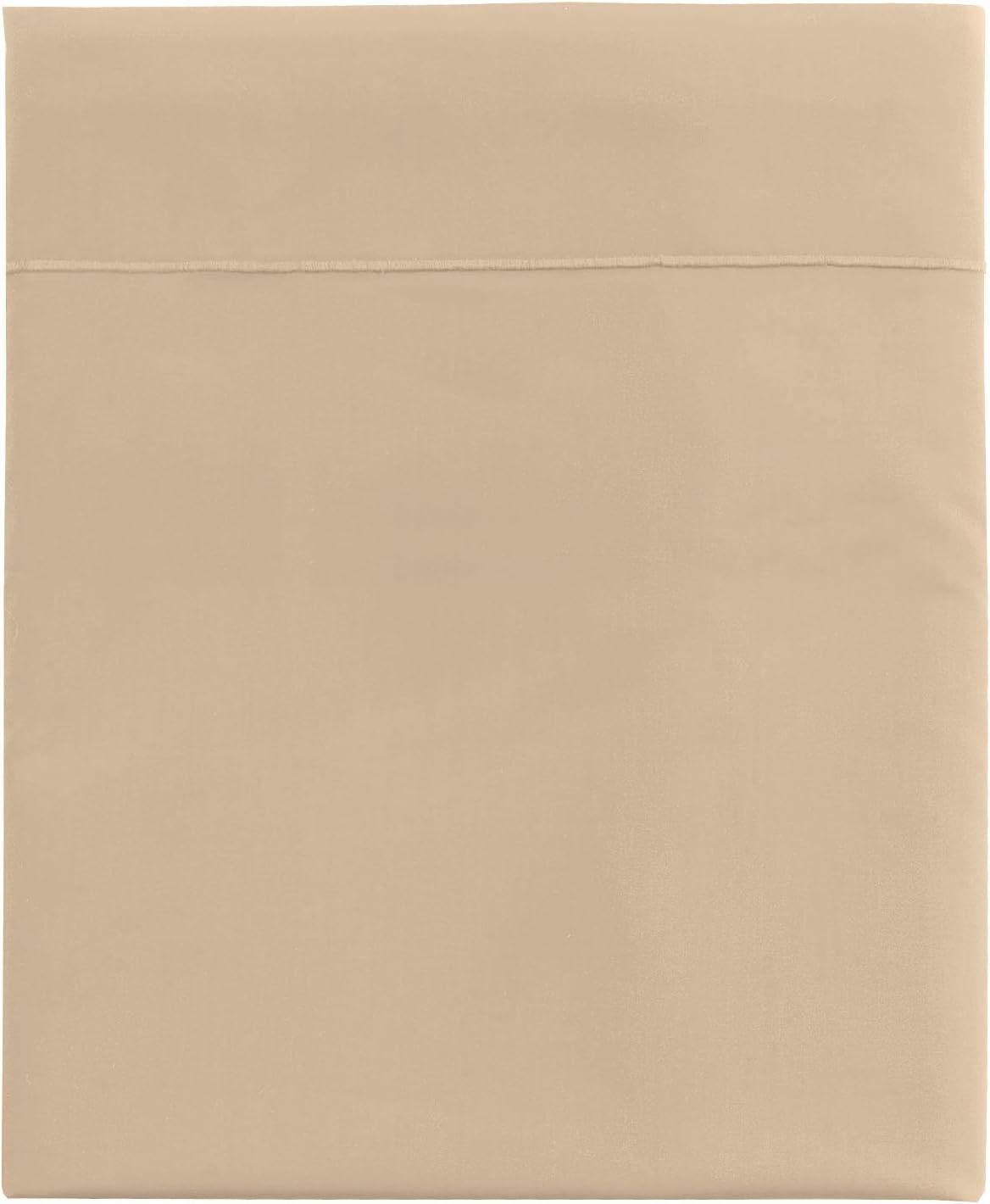 Essix Drap Plat Star Line Coton Blanc 270 x 300 cm