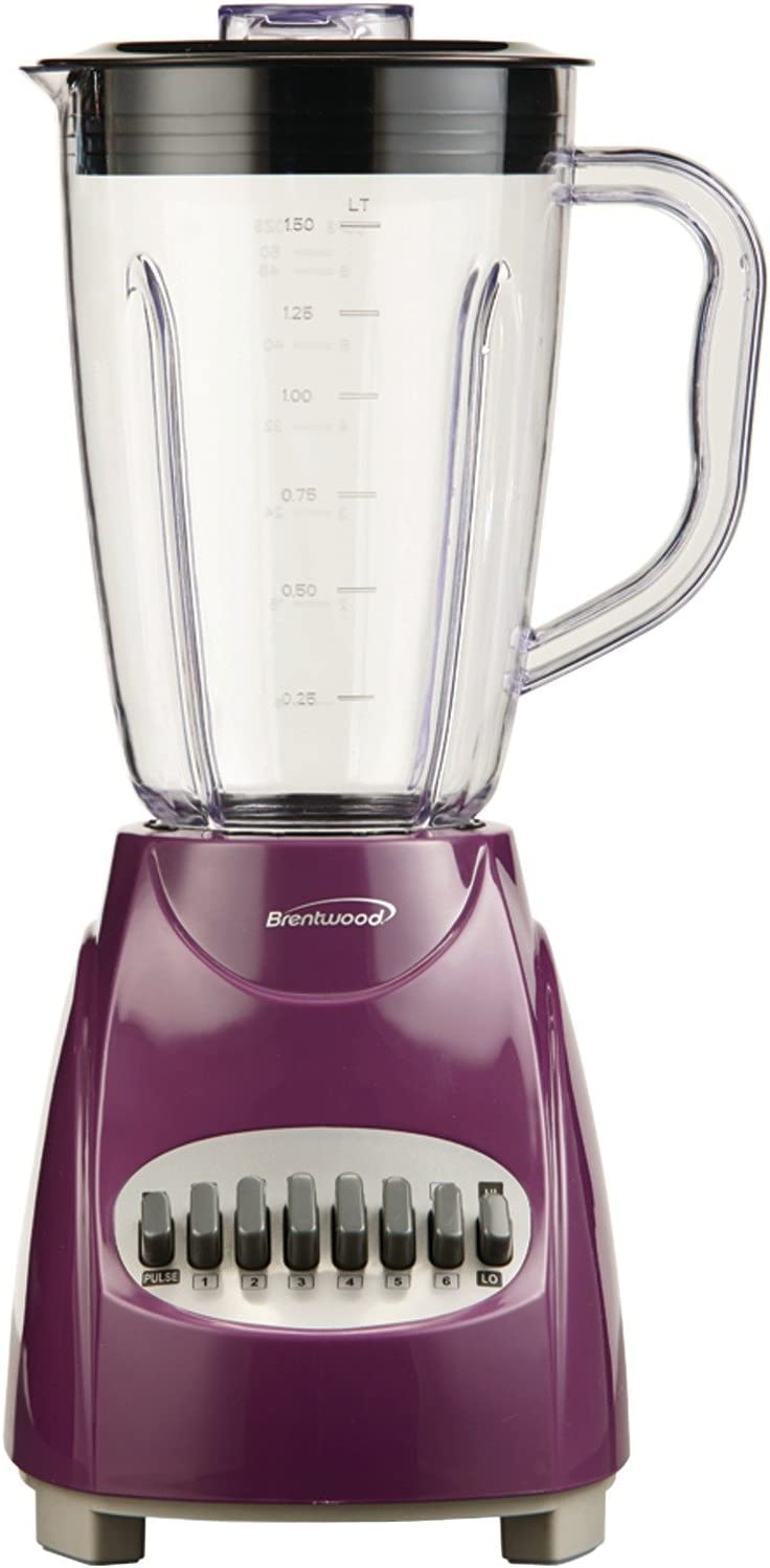 BrentwoodJB-220PR12-Speed+PulseBlender,Purple