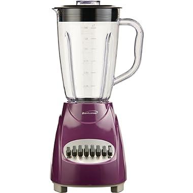 Brentwood  JB-220PR  12-Speed  +  Pulse  Blender,  Purple