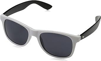 MasterDis Groove Shades GStwo Gafas de Sol, Unisex Adulto, Negro/Blanco, Talla única
