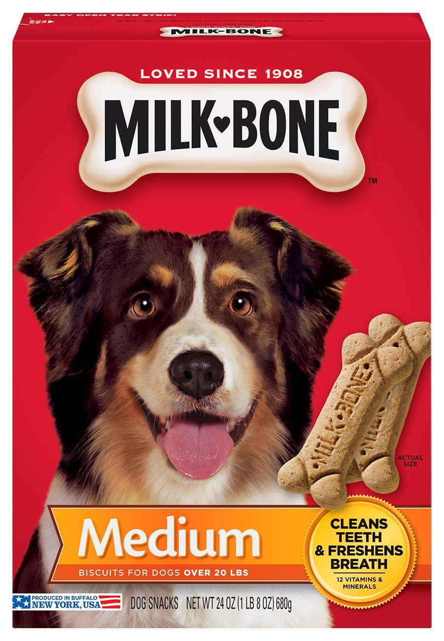 Milk-Bone Original Dog Treats For Medium Dogs, 24-Ounce