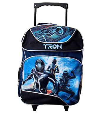 tron large roller backpack tron full size wheeled backpack