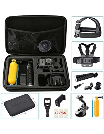 Kit 50 EN 1 maletin bolsa de accesorios para GOPRO SJCAM arnes bolla lote