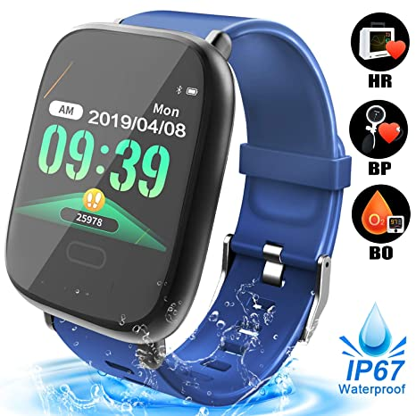 Duperym Reloj deportivo impermeable IP68 Bluetooth Smart Watch ...