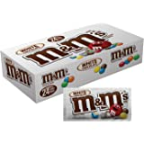 M&M's White Chocolate Singles Size Candy, 1.5 Ounce (Pack of 24)