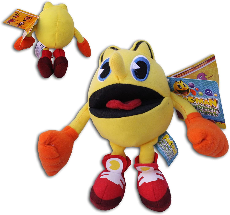 Pac Man 17cm Peluche Pac-Man Aventuras Fantasmales Dibujos ...