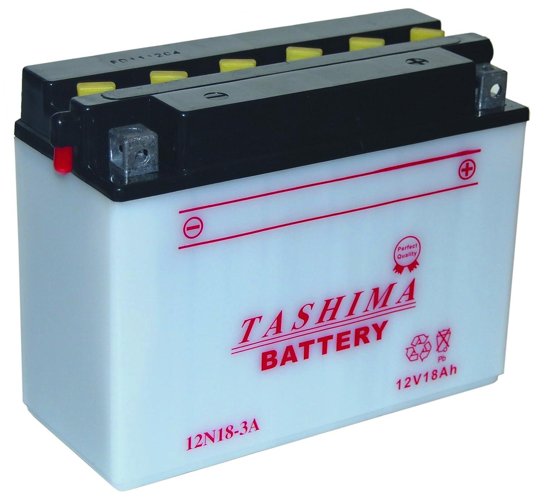 Tashima - Batería moto 12N18-3A 12V 18Ah - Batería(s): Amazon.es ...