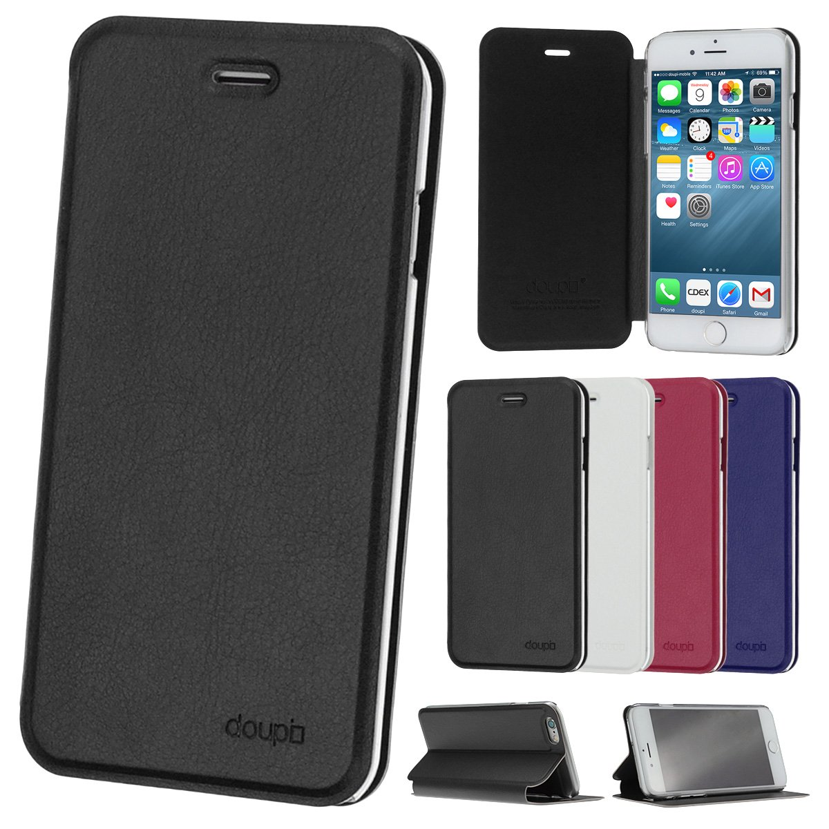 cover iphone 7 custodia a libro