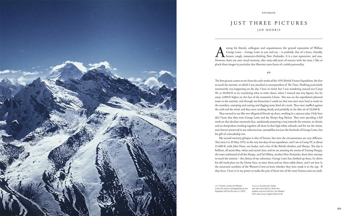 The Conquest of Everest: Original Photographs from the Legendary First  Ascent: George Lowe, Huw Lewis-Jones: 9780500544235: Amazon.com: Books