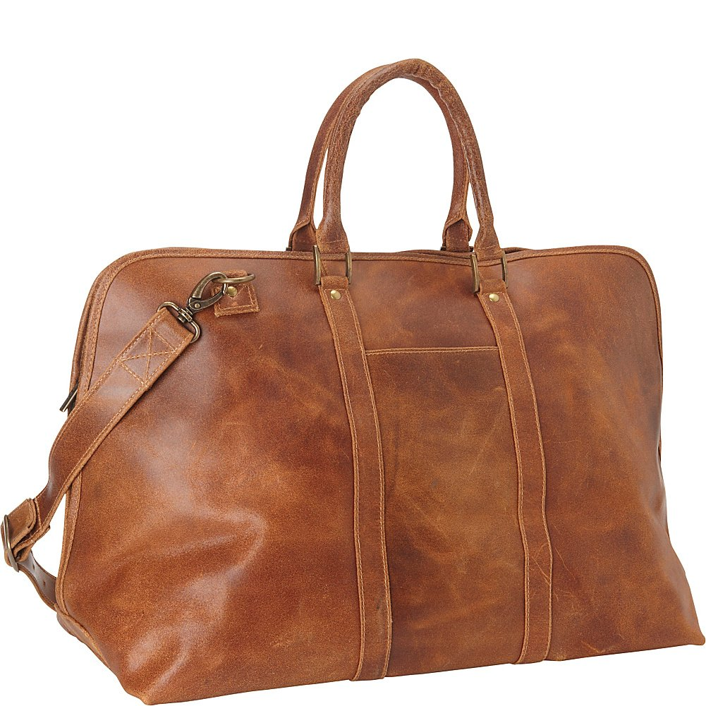 Le Donne Leather Distressed Getaway Travel Duffel, 25''