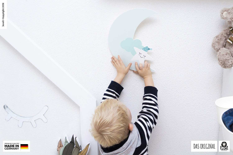 Hellblau 30 X 30 X 0 5 Cm Xxl Deko Mond Kinderzimmer Bilder Poster Wandtattoo Dekoration Babyzimmer M8 Wandsticker Wandfiguren
