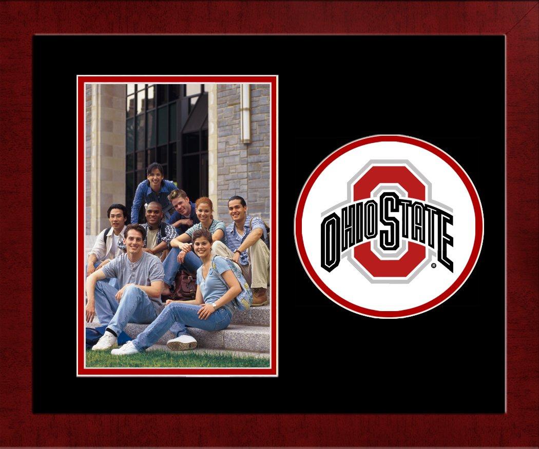 Campus Images NCAA Ohio State Buckeyes University Spirit Photo Frame Vertical