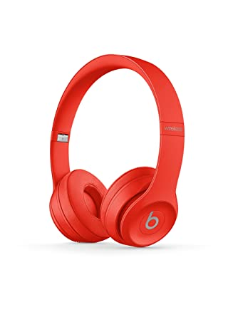 77b9b0ccd43 Amazon.com: Beats Solo3 Wireless On-Ear Headphones - (PRODUCT)RED