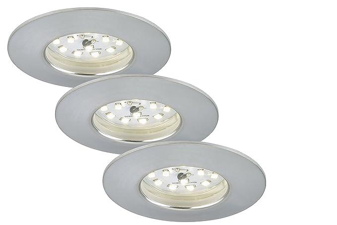 Briloner Leuchten 7231-039 LED Einbauleuchte, dimmbar ...