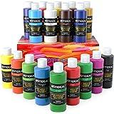 GOTIDEAL Acrylic Paint Set, 18 Colors/Tubes(100ml, 3.4 oz) Art Craft Paint Non Toxic, Perfect for Hobby Painters, Artist, Adu