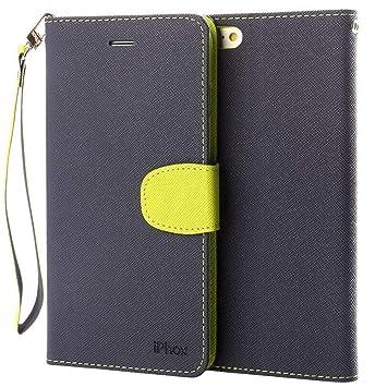 Funda iPhone 5 / 5S / SE, IPHOX Fundas [Ranuras para Tarjetas][Cierre Magnético] [Soporte Plegable] [Ultra-Delgado]TPU Parachoques Protección Carcasa ...