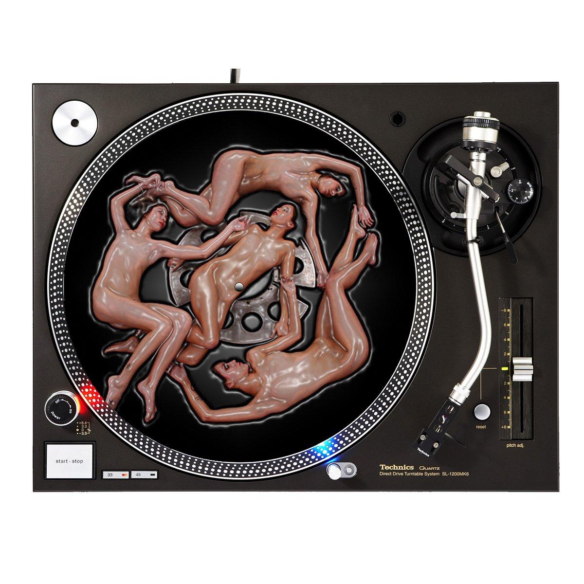 Plastic Girls - DJ Turntable Slipmat Sunshine Design Cases Slipmat-280