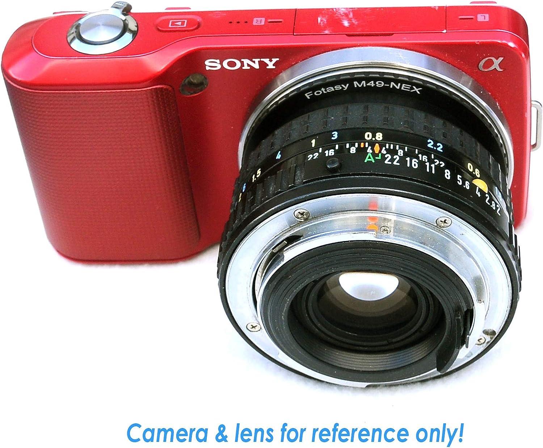 Nikon G AFS Adapter Sony FE fit Sony Alpha NEX-5T NEX-6 NEX-7 a3000 a3500 a5000 a5100 a6000 a6100 a6300 a6400 a6400 a6500 a6600 Nikon F to E Mount Fotasy Manual Nikon G Lens to Sony E-Mount Adapter
