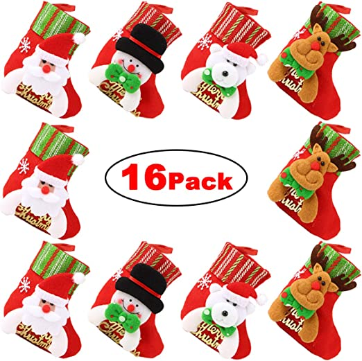 100 x Christmas Tree Peppermint Candy Canes Decoration Sweets Stocking Box Gift