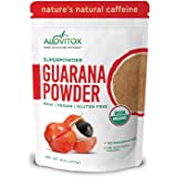 Organic Guarana Seed Powder by Alovitox | Raw, Vegan, Gluten Free Super Food Supplement | Naturally High in Energy…