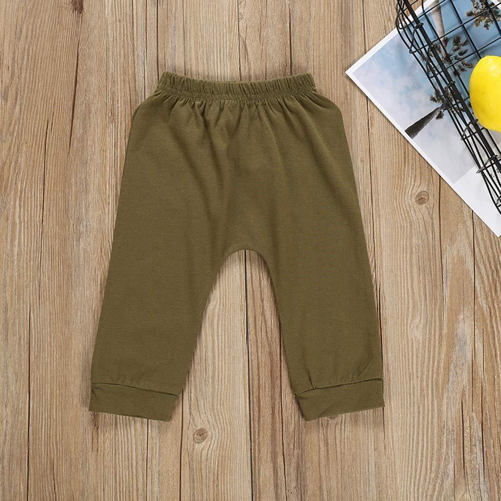 1-4 Years Mini boss Children Short-Sleeved Monogram-Printed Blouse T-Shirt + Trousers Home wear Set Sannysis