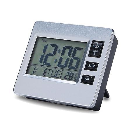 Reloj de Alarma Digital Reloj de escritorio Temporizador de la cocina de la capilla del refrigerador