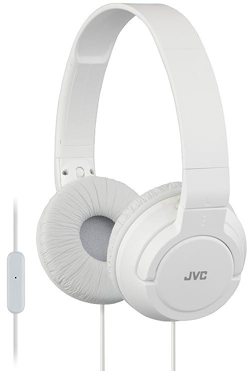JVC HA-SR185-W-E - Auriculares de diadema (con controlador de llamada)