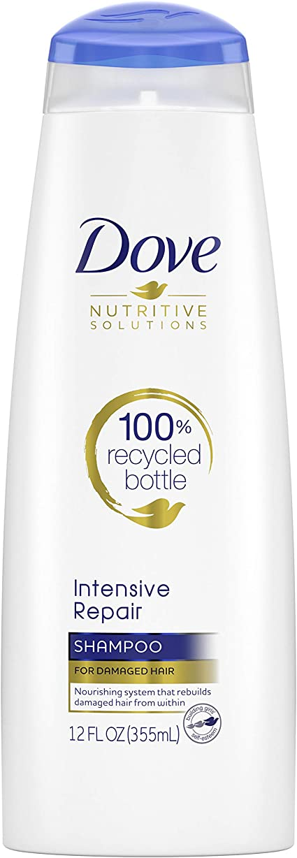 Dove Damage Therapy Intensive Repair Shampoo, 12 Ounce (Pack of 6 ...