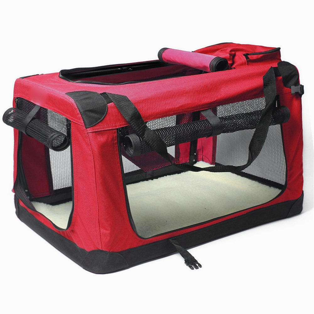WYD Pet Bag Carrier,Portable Comfort Soft Sided Pet Carrier Airline Travel,Outdoor Folding Dog Cage