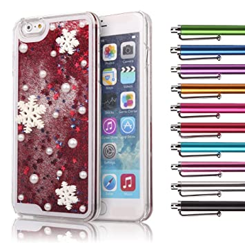 Amazon.com: iPhone 6/6s Case, Mini-Factory Cute Glitter Designer ...