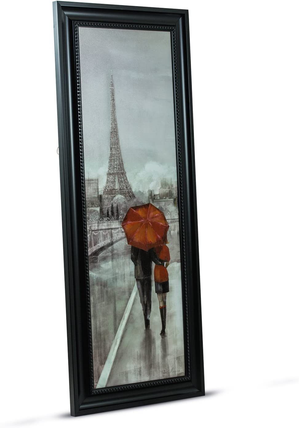 Amazon Com American Art Decor Paris Stroll By Ruane Manning Framed Painting Print On Canvas Wall Art Decor Posters Prints