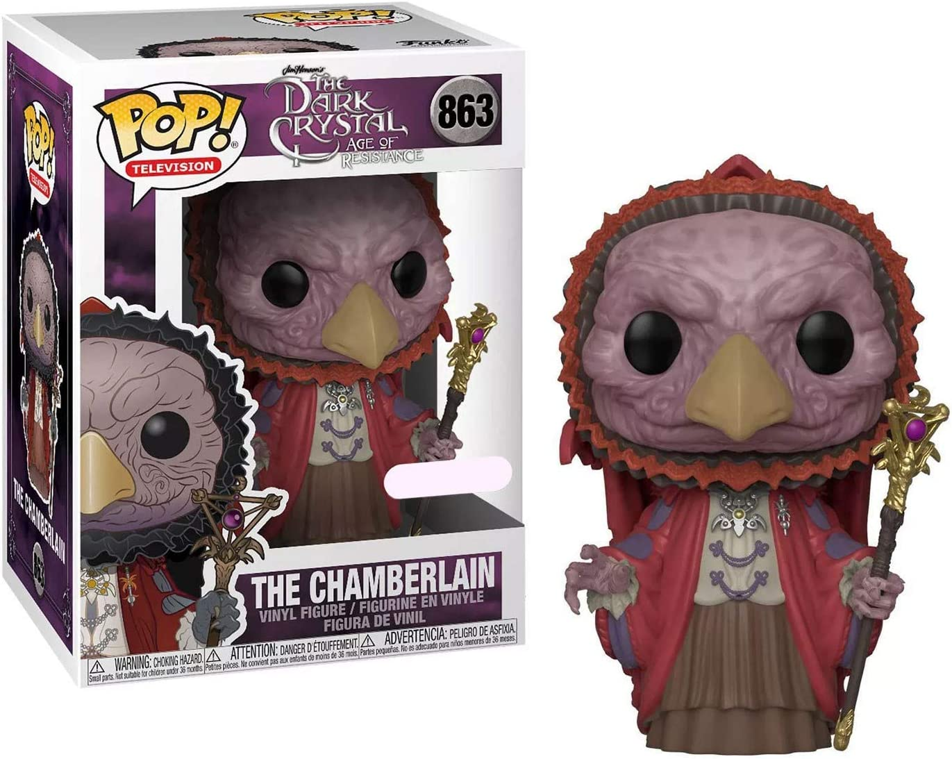Funko Pop Dark Crystal Chamberlain Skeksis Exclusive