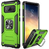 IKAZZ Galaxy Note 8 Case,Samsung Note 8 Cover Dual Layer Soft Flexible TPU and Hard PC Anti-Slip Full-Body Rugged Protective