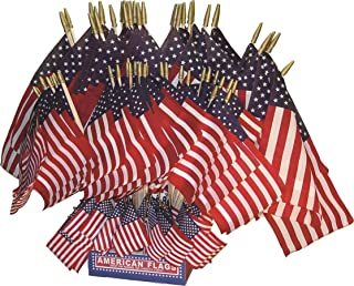 product image for Flagzone 032034 108 Piece Assorted Parade Stick Flags Display